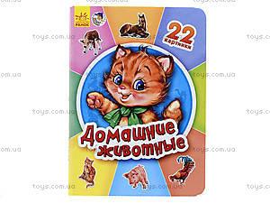 Книга серии 22 картинки «Домашние животные», А231033Р, цена