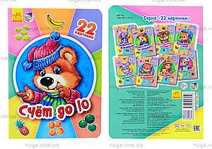 Книжка серии 22 картинки «Счёт до 10», А231022Р