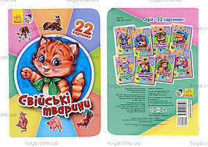 Книга для малышей «22 картинки: Домашние животные», А231029У