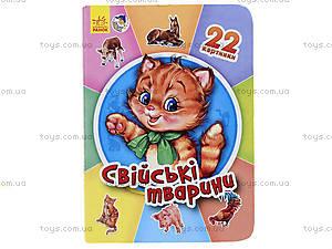 Книга для малышей «22 картинки: Домашние животные», А231029У, цена
