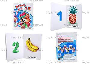 Книжка «22 картинки: Счёт до 10», А231012У