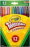 24 выкручивающихся восковых мелков Twisables, 52-8530