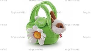Мягкая игрушка «Кролик в сумке», 29720