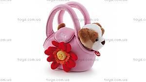 Мягкая игрушка «Щенок в сумке», 29728