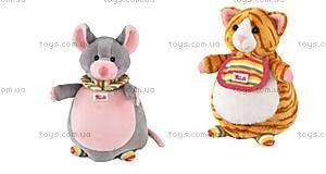 Мягкая игрушка-рукавичка «Кот-Мышь», 29982