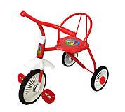3-х колёсный велосипед Неоновый гвоздик , красный, TR235, купить