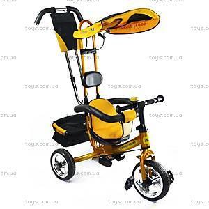 3-колесный велосипед, золотистый, BT-CT-0002 GO