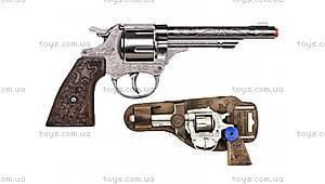 Игрушечный револьвер «Ковбойский», 8 зарядный, 3080/0, купить