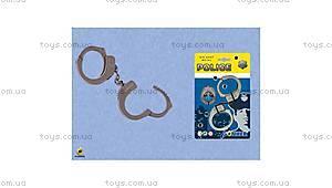 Игровой набор полицейского с наручниками, 324/0, купить