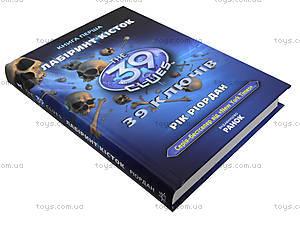 Детская книга «Лабиринт костей», Р267011У, купить
