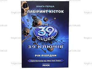 Детская книга «Лабиринт костей», Р267011У