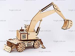 3Д экскаватор - конструктор, 96285, игрушки