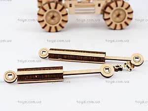 3Д экскаватор - конструктор, 96285, детские игрушки