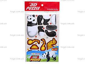 3D пазлы «Панда» 4в1, 3119, купить