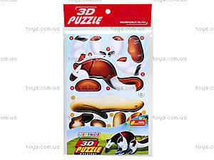 3D пазлы «Ящер» 4в1, 3119-03, фото