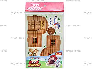 3D пазлы «Домик для питомца коровка», 3121-03, купить