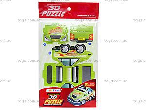 Пазлы 3D «Гоночный автомобиль 1», 3122, купить