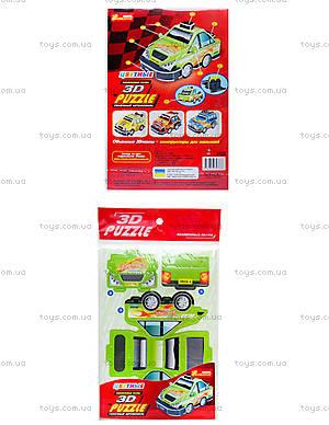 Пазлы 3D «Гоночный автомобиль 1», 3122