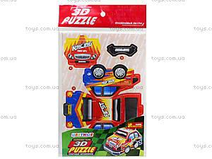 Пазлы 3D «Гоночный автомобиль 2», 3122-01, купить