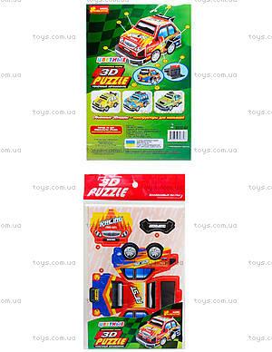 Пазлы 3D «Гоночный автомобиль 2», 3122-01