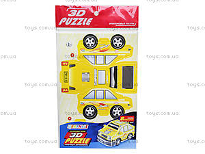 Пазлы 3D «Гоночный автомобиль 3», 3122-02, купить