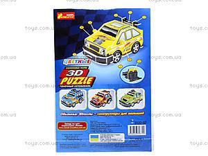 Пазлы 3D «Гоночный автомобиль 3», 3122-02, фото