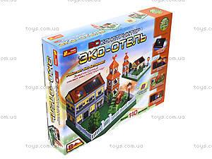3D конструктор «Эко-Отель», 0892, игрушки