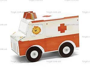 3D-конструктор Krooom «Машина скорой помощи», K-455