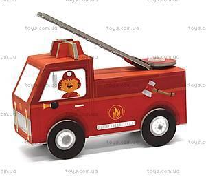 3D-конструктор Krooom «Пожарная машина», K-454