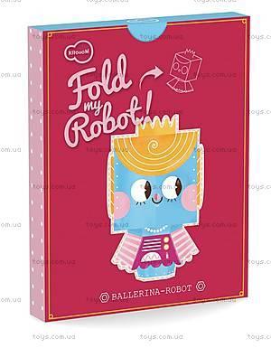 3D-конструктор Krooom «Робот-Балерина», K-460, купить