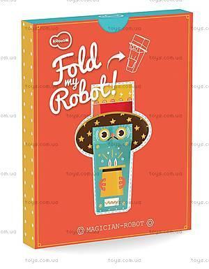 3D-конструктор Krooom «Робот-Фокусник», K-464, купить