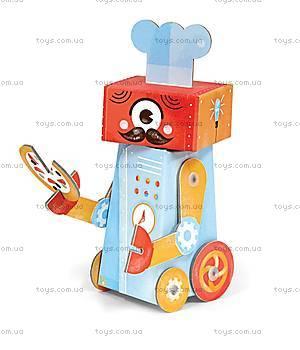 3D-конструктор Krooom «Робот Шеф-повар», K-462