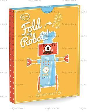 3D-конструктор Krooom «Робот Шеф-повар», K-462, купить