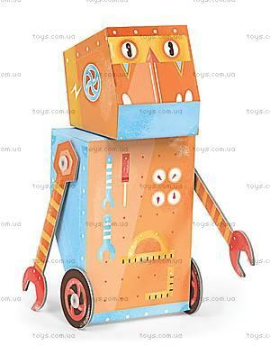 3D-конструктор Krooom «Робот-Строитель», K-461