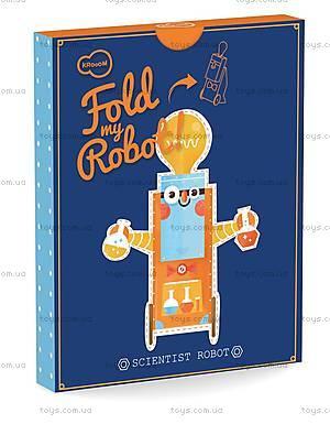 3D-конструктор Krooom «Робот-Ученый», K-465, купить