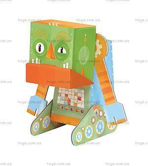 3D-конструктор Krooom «Робот-Ворчун», K-463