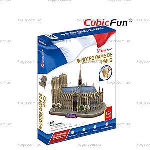 3D конструктор «Собор Парижской Богоматери», C02054 (MC054h), фото