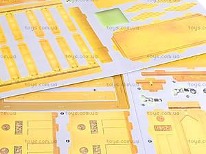 3D пазл «Бранденбургские ворота», 32 детали, 1001E, детские игрушки