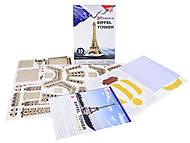 3D пазл «Эйфелева Башня», 9004, доставка
