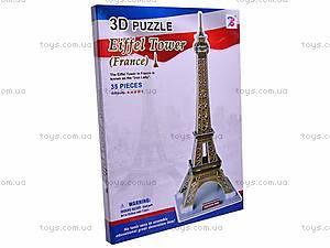 3D пазл «Эйфелевая башня», 1001K