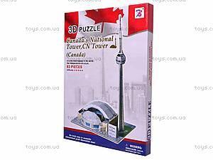 3D пазл «Канадская национальная башня», 1001H, купить