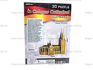 3D пазл «Кельнский собор», 1000S, фото
