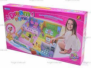 3D пазл «Кукольный дом», 8062, игрушки