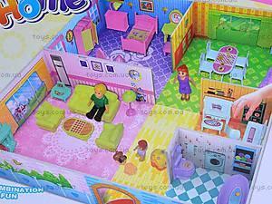 3D пазл «Кукольный дом», 8062, детские игрушки