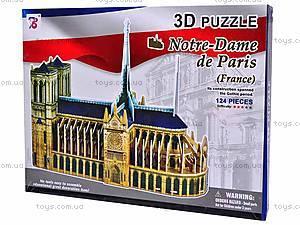 3D пазл «Нотр Дам де Пари», 1000F, отзывы