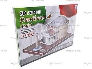 3D пазл «Пантеон», 1001A, купить