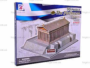 3D пазл «Парфенон», 1001V, игрушки