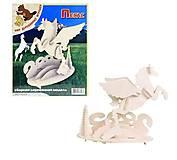 3D пазл «Пегас», П106, фото