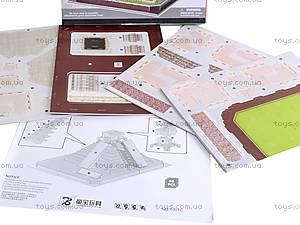 3D пазл «Пирамида Майя», 1001C, детские игрушки