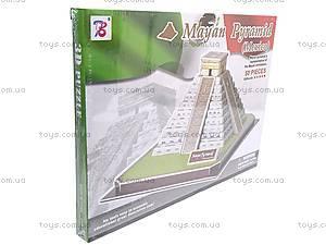 3D пазл «Пирамида Майя», 1001C, купить